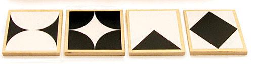 Memo geometrie classic plus im Holzkasten
