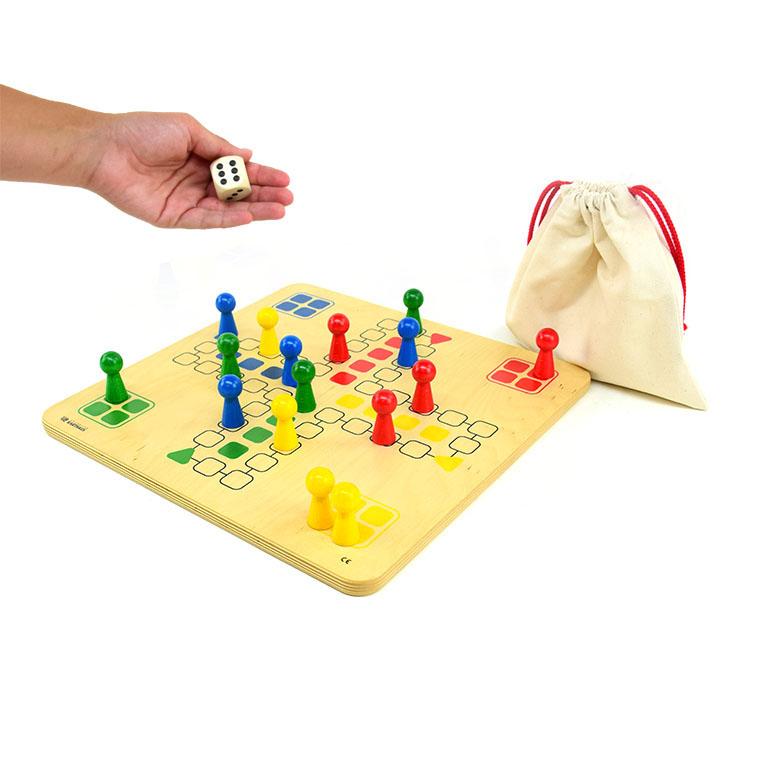 Wer ärgert sich Brettspiel für 4 Personen