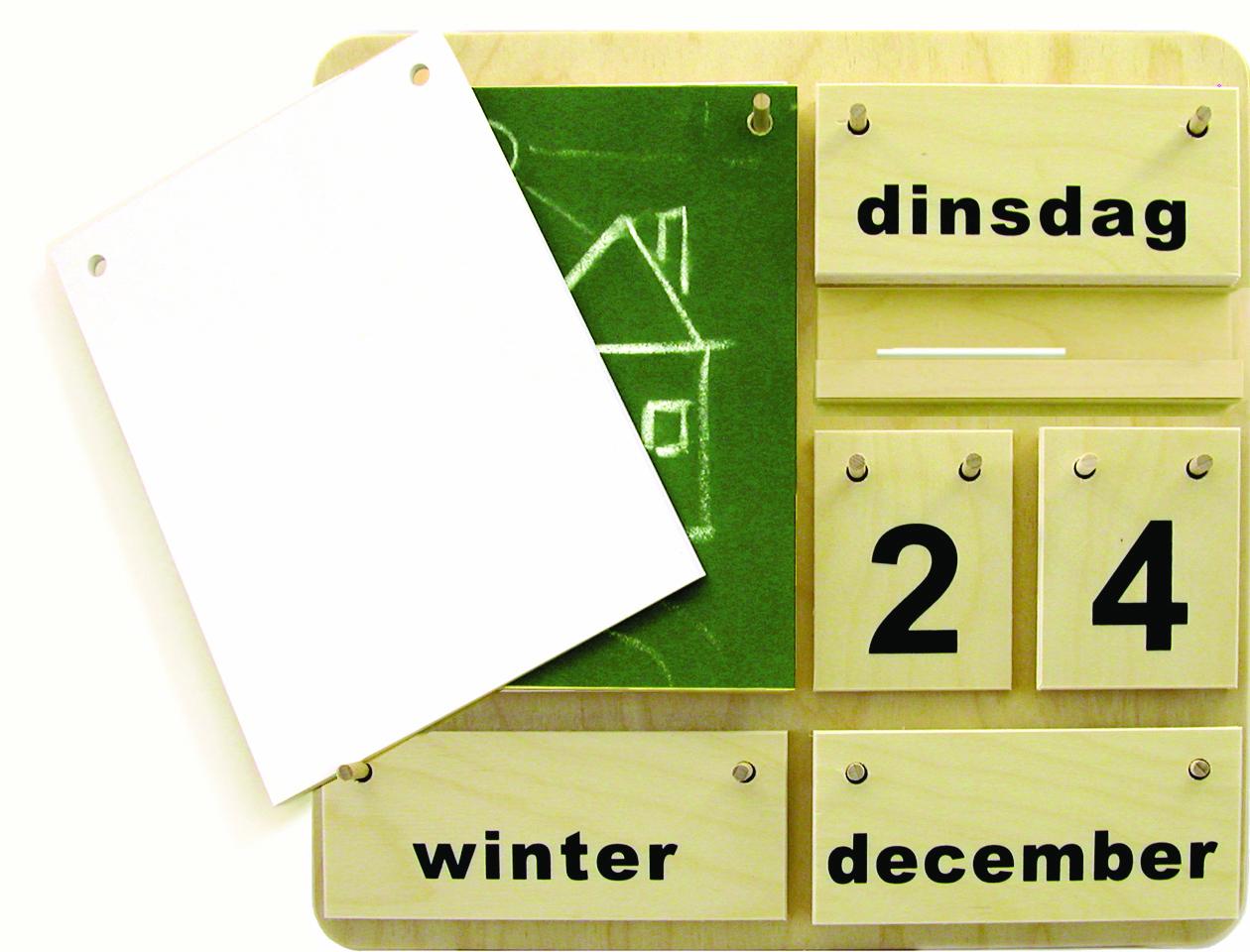 Holzkalender Creativ D (DE)